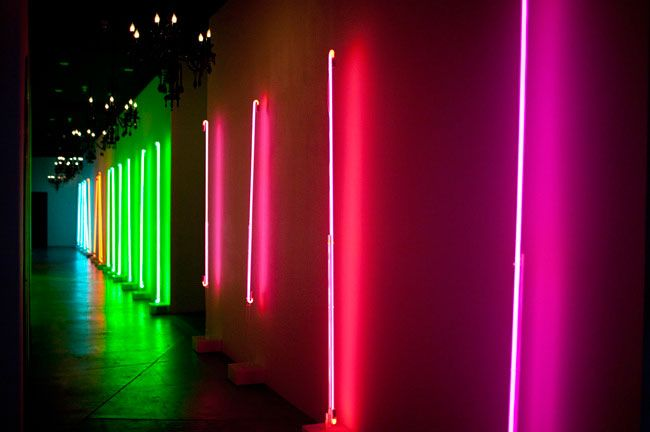 The cream event los angeles light side neon and neon lighting neon wall at the cream event la aloadofball Image collections