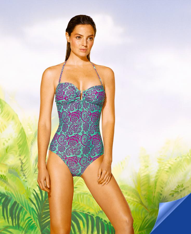 889828a2e Bañador mujer 15€. ¡Disfruta del verano! En  Hipercor encontrarás la mejor moda  de baño