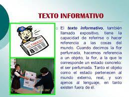 Texto Informativo Para Ninos Google Search Texto Informativo Texto Informativo Ejemplo Textos