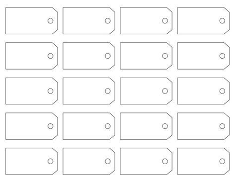 Price Tag Template Price tag ideas Printable tags, Free