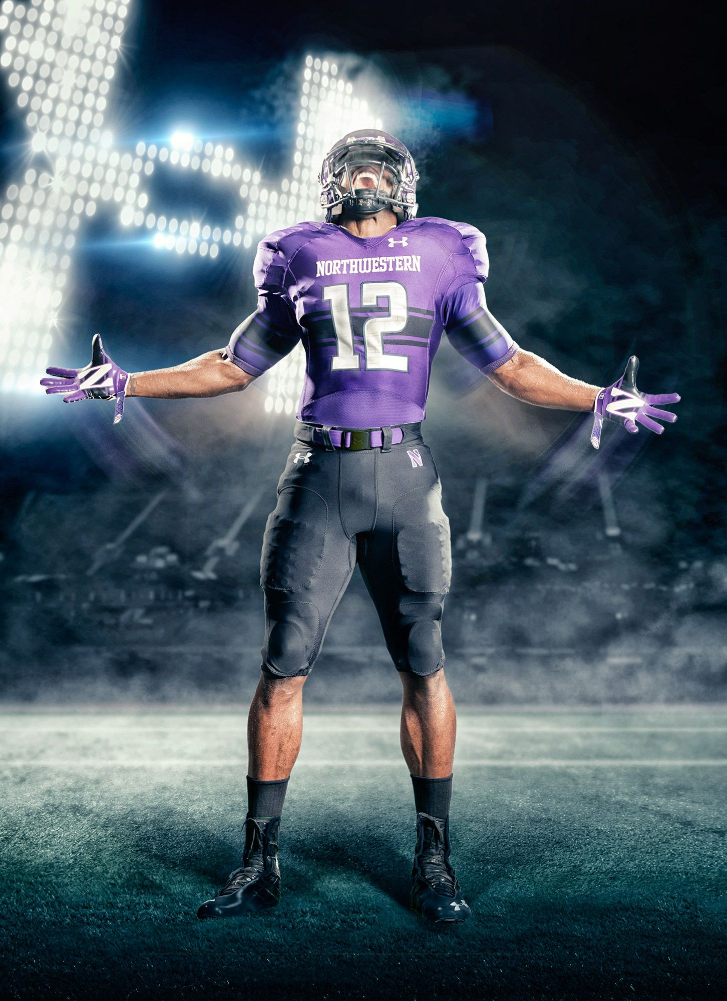 Under Armour   Northwestern University  4add65660