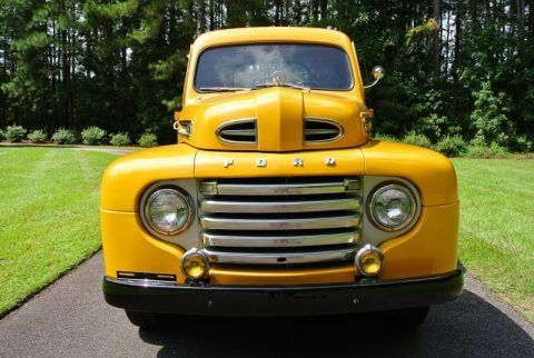 Vintage Trucks For Sale >> Older Restoration 1949 Ford F1 Pickup Vintage Truck For Sale