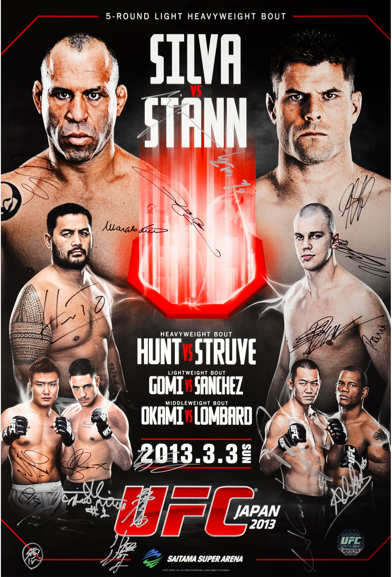 click to zoom Ufc, Event poster, Ufc poster