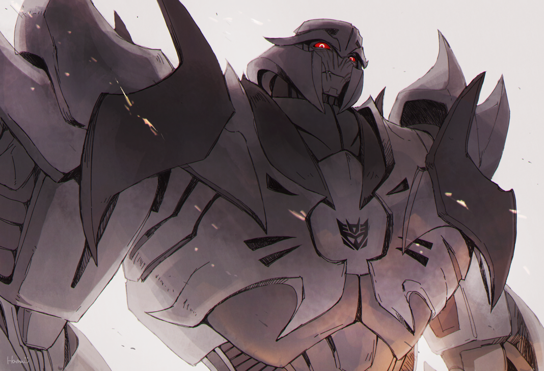 TFP Megatron! Honestly, as a 10 year old kid watching this, I