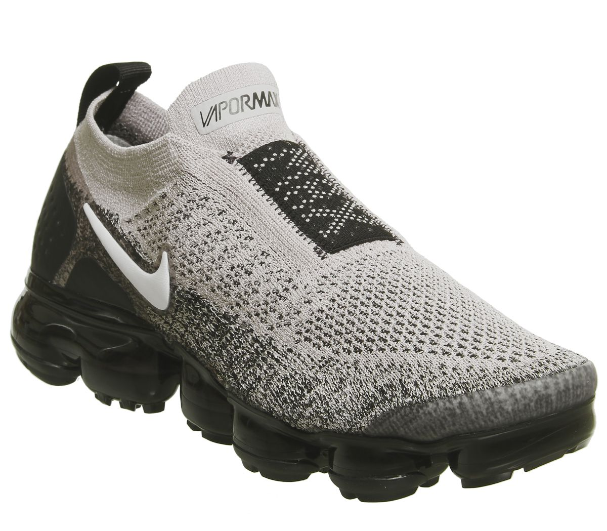 b320957885 Nike, Air Vapormax Flyknit Moc 2, Moon Particle White Black | Shoes ...
