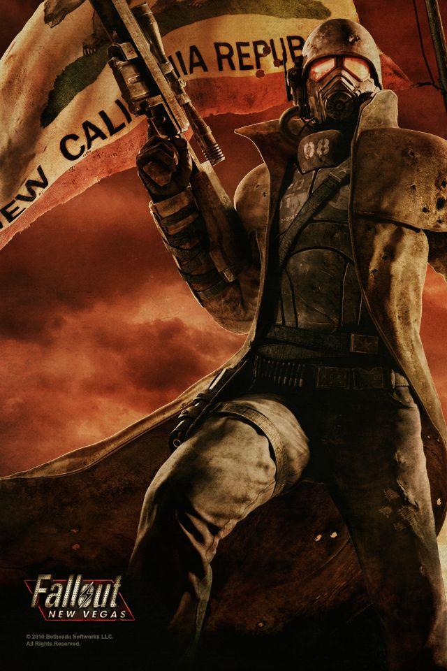 New California Republic Iphone Wallpaper Id 39346 Fallout Art