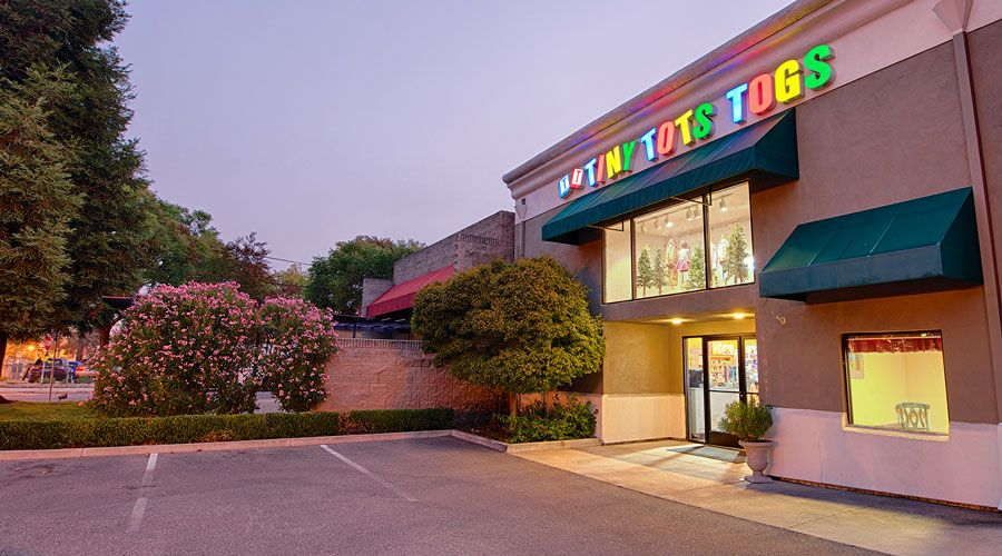Tiny Tots Baby Boutique building