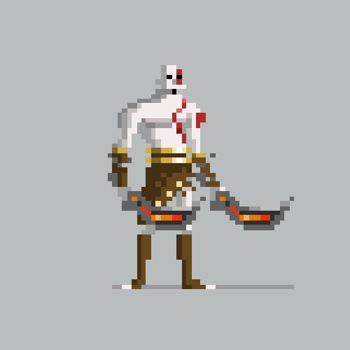 Pixel Video Game Characters For Kotaku By Michael Myers