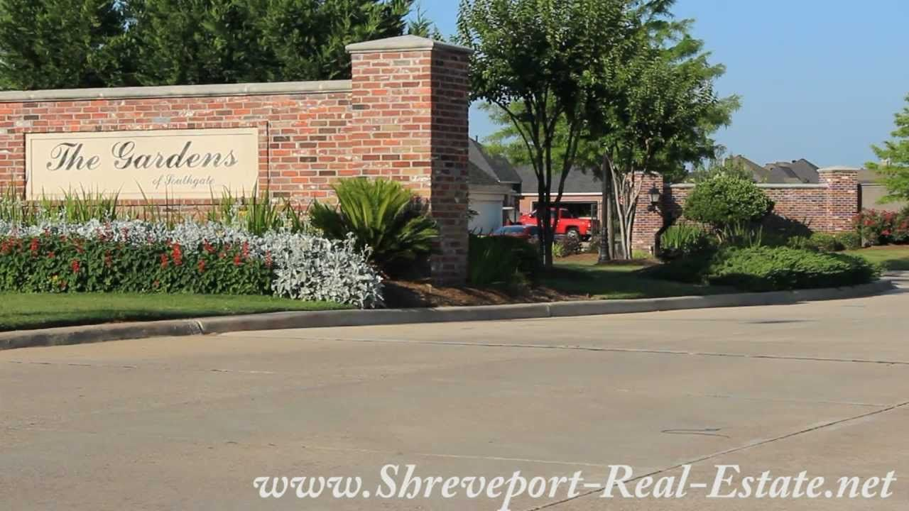 The Gardens Of Southgate Subdivision Neighborhood Bossier City La Bossier City The Neighbourhood City
