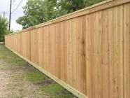 This type of fence doesn t have any space between panels to obtain total privacy.