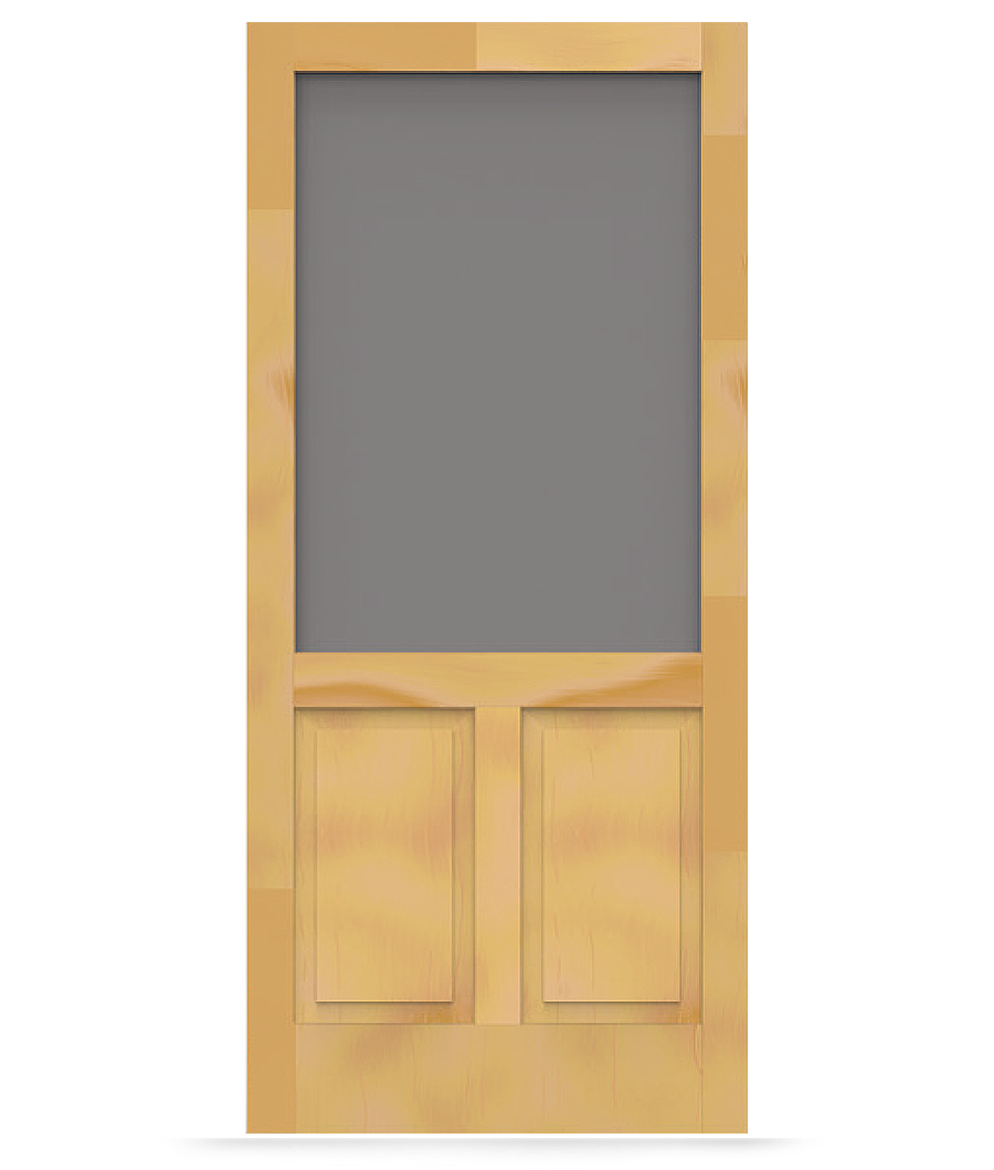 Pioneer Wood Screen Door From Screen Tight Durable Wood And Solid