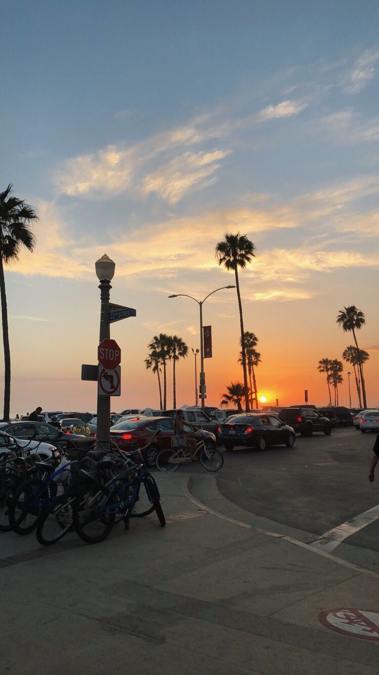 Sunset Wallpaperiphone Newportbeach Newport Beach Summer Summervibes Beach Vibe Newport Beach Outdoor