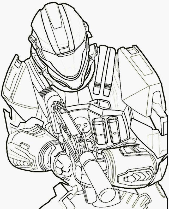 Halo Coloring Book Paginas Para Colorear Para Imprimir Paginas Para Colorear Halo Dibujo