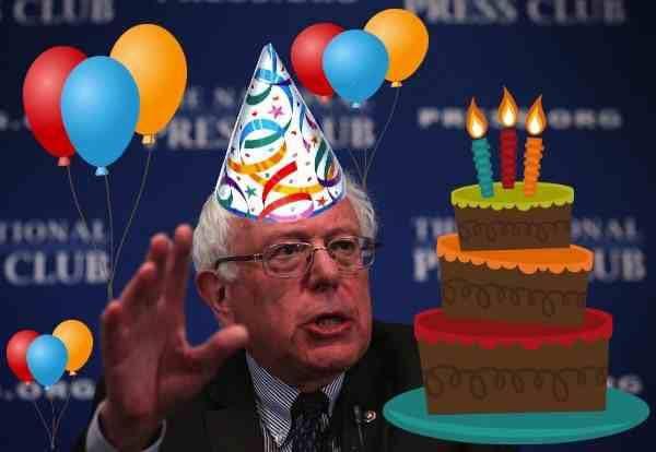 Happy Birthday From Bernie Sanders Happy Birthday For Him Birthday Happy Birthday