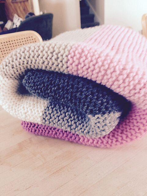 Ravelry Gallery| Super Easy Crib Blanket | Purl Soho ...