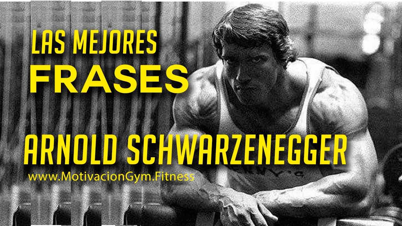 Las mejores Frases Motivadoras de Arnold Schwarzenegger   Arnold ...