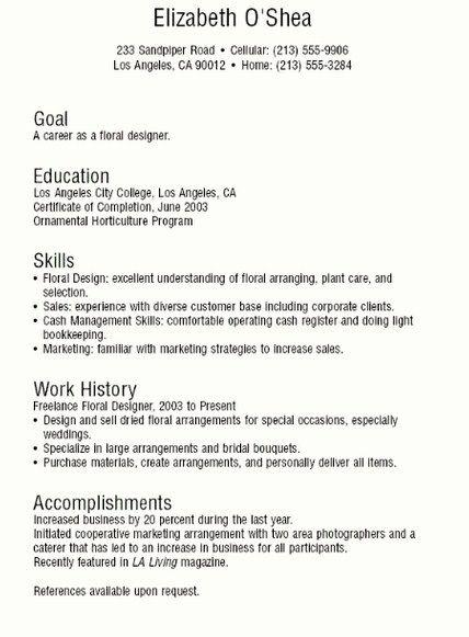 Pin by Job Resume on Job Resume Samples  Resume Job