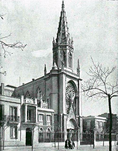 1918 Calle De Torrijos Conde De Peñalver Convento Del Rosario Madrid Old Pictures Architecture Sketch