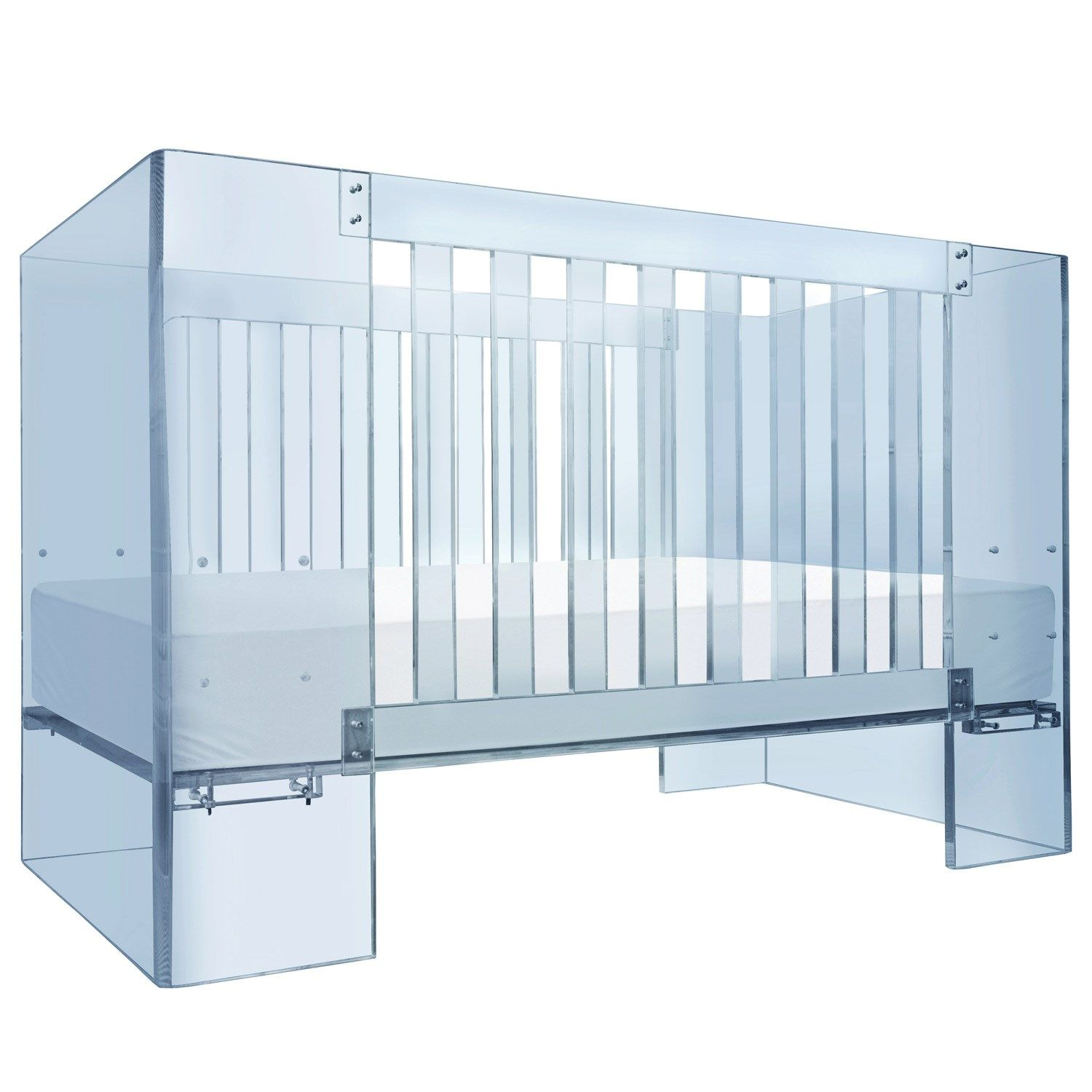 Nursery Works Vetro Blue Crib #Laylagrayce
