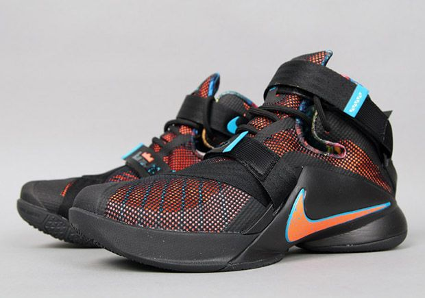 finest selection 83dbd cda0c This Is The Wildest Pair Of The Nike LeBron Soldier 9 We've ...
