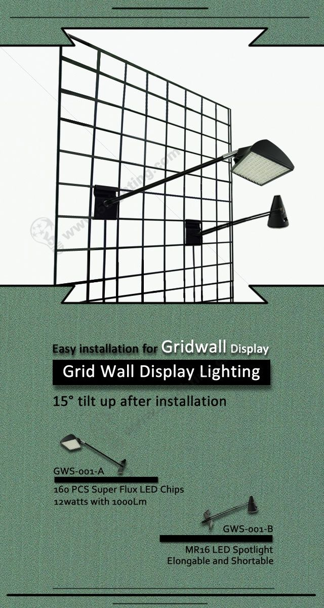 Good Super Bright And Great Quality Led Display Lighting For Exhibition Gridwall  Display Stand Decoration, Know More: Http://www.5lighting.com/gridwall U2026