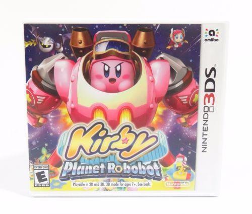 Kirby: Planet Robobot (Nintendo 3DS 2016) https://t.co/UzAmcoNnqb https://t.co/zJXLO0JgzJ