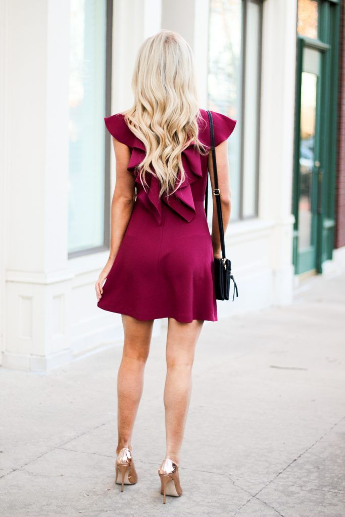 Valentine's Day Outfit | The Glamorous Blonde