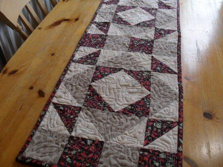quilted table runner patterns free easy | ... To Quilt - Quilt ... : free easy table runner quilt patterns - Adamdwight.com