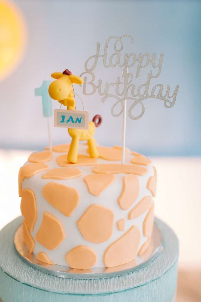 Giraffe Theme Birthday Party Ideas Giraffe Birthday party ideas