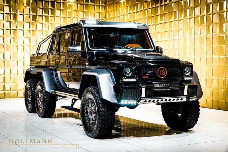 điều Gi Khiến Mercedes Benz G63 Amg Của Brabus 700 Ma Lực Co Gia Khủng Mercedes Benz Chau Au