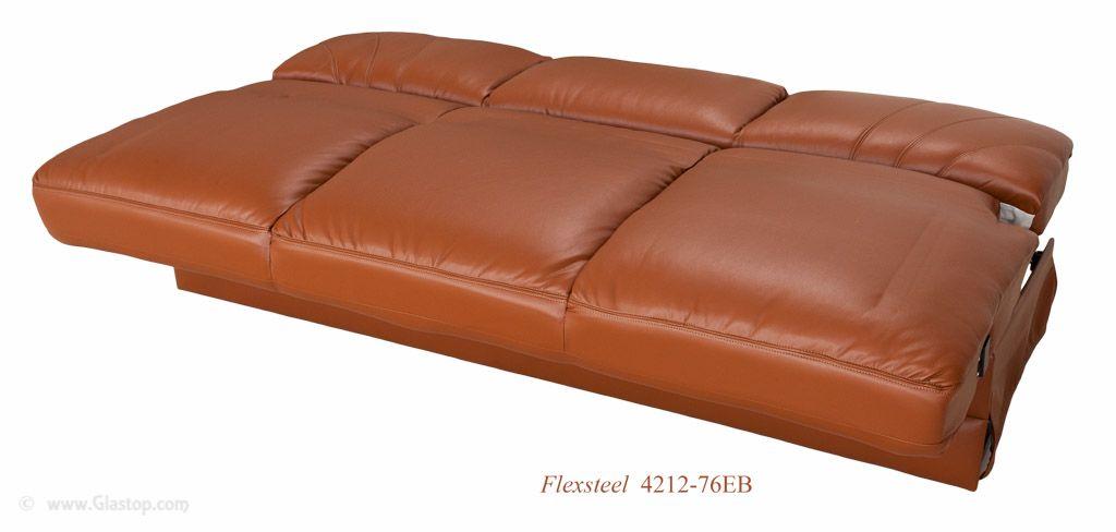 flexsteel rv sofa model 4212 76eb 76 removable arm easy bed