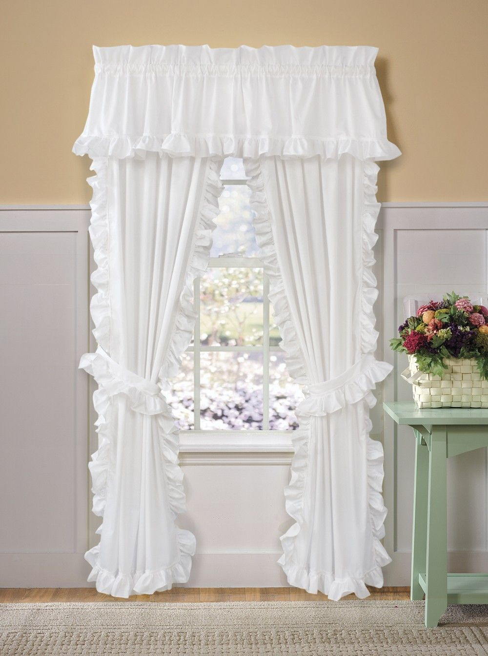 Curtain Bath Outlet Clic Cape Cod Panel Pair