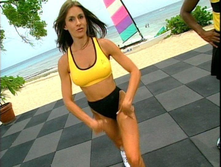 Nude women in stockings and heels