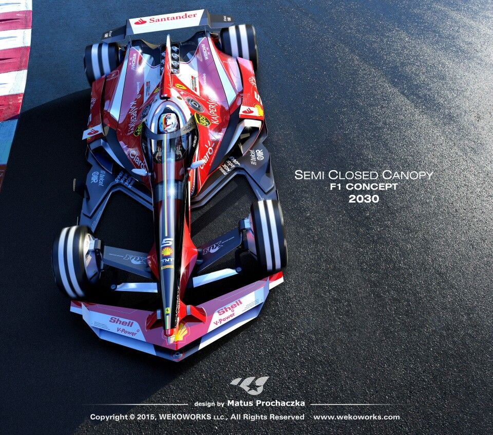 Amazing cars · F1 semi closed canopy ... & F1 semi closed canopy concept by Matus Prochaczka | DDD ...