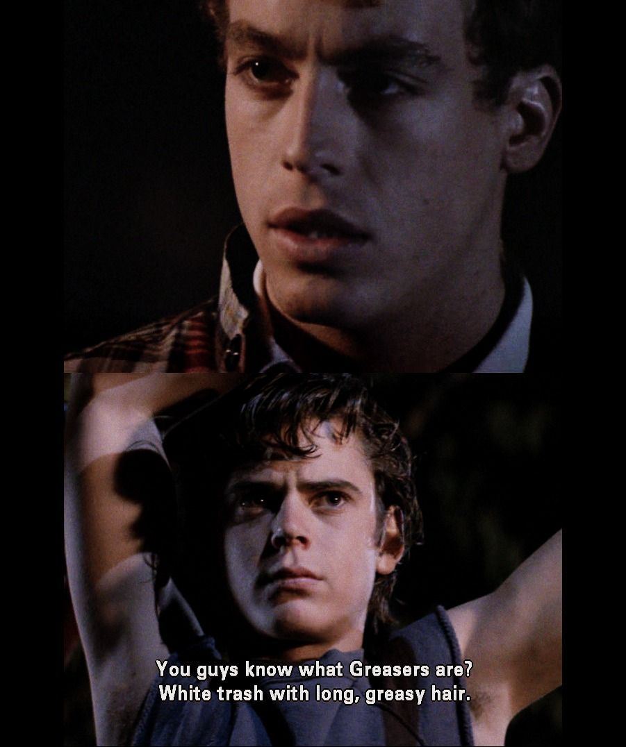 If you've read the Outsiders...?