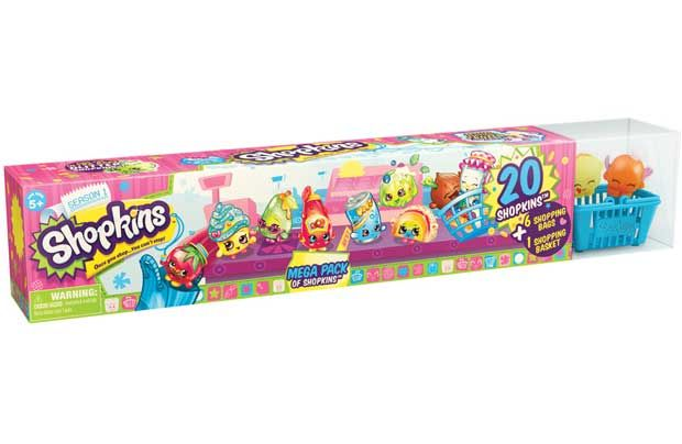 Shopkins from Moose 20 Pack in Tube