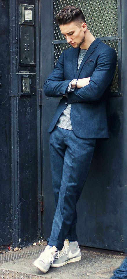 Sneakers till Kostym Nästa stora trend? | Herrstil, Mode