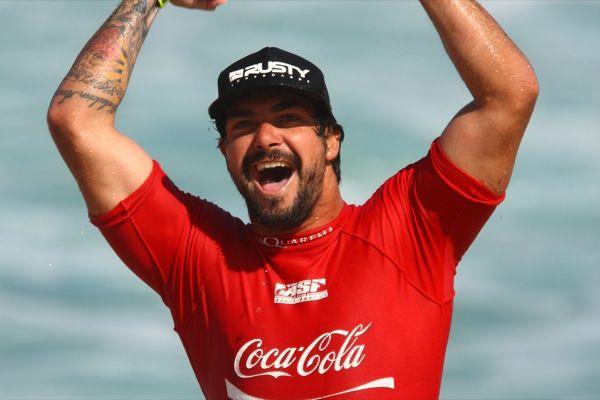 Willian Cardoso, campeão do Coca-Cola Saquarema Pro 2010