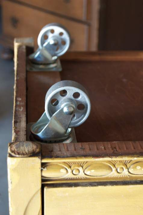 Before After Basics Let The Good Times Roll Barb Blair Knack Attaching Coasters To Furniture