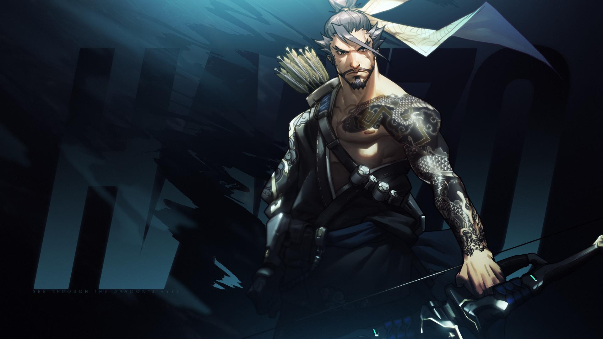 video game overwatch hanzo wallpaper | video game | pinterest