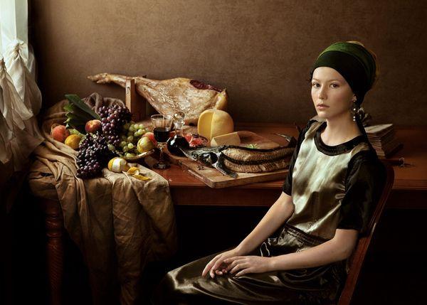 Model: Nenilina Lubov | Photographer: Andrew Yakovlev | Art Director: Lili Aleeva