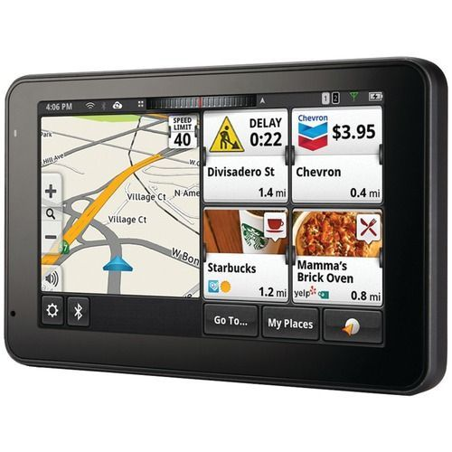 MAGELLAN RM5295RGLUC SmartGPS 5 5295T-LM GPS Device with Bluetooth(R) & Lifetime Maps & Traffic Updates, Refurbished