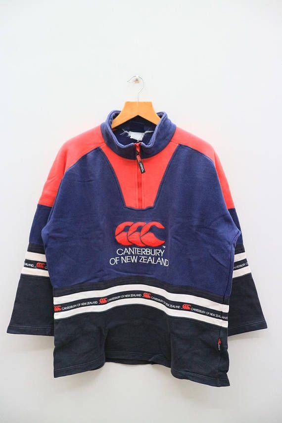 Vintage CANTERBURY Of New Zealand Big Logo Big Spell