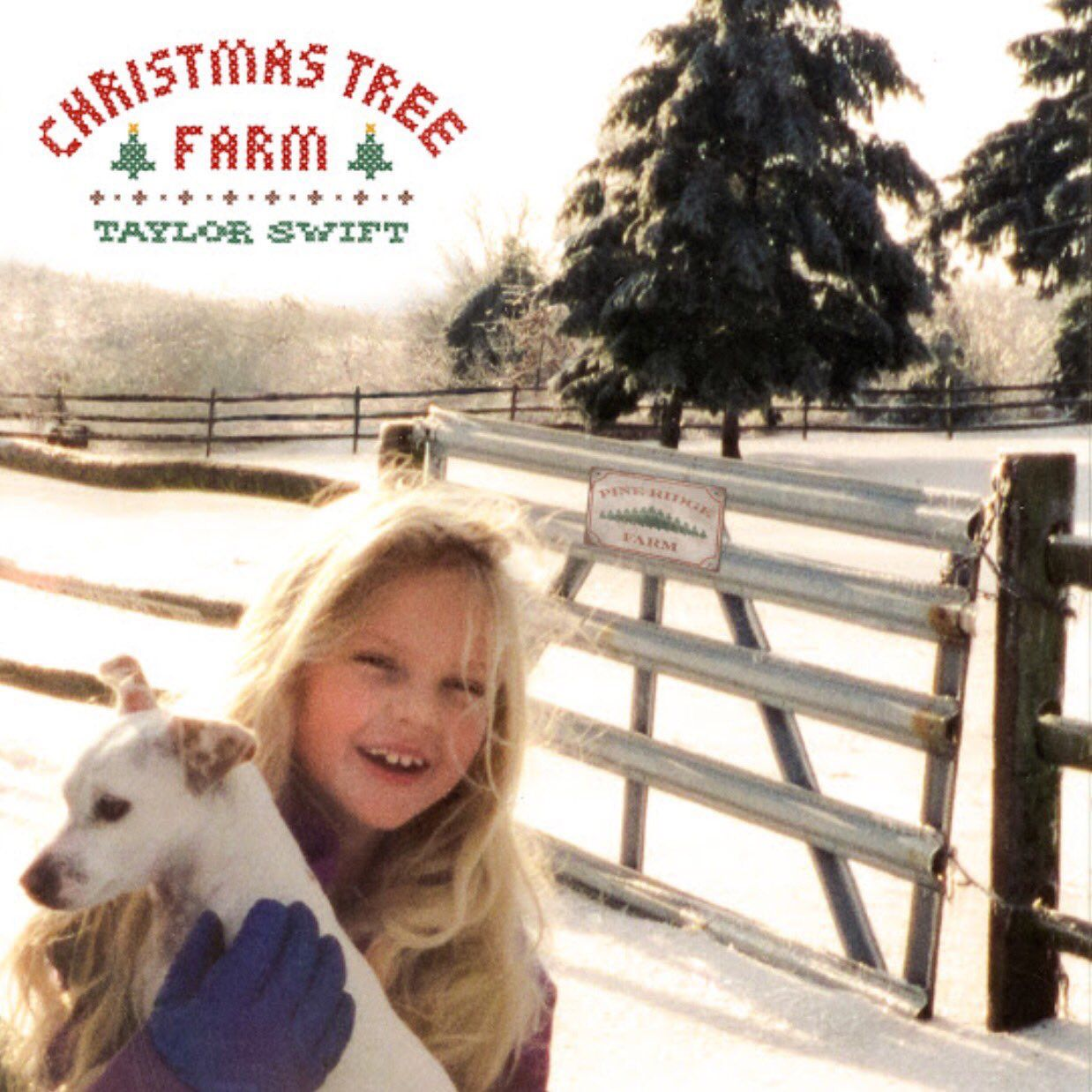 The Artwork For Christmas Tree Farm Taylor Swift Christmas Taylor Swift Fan Taylor Swift Childhood