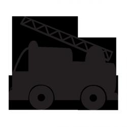 Sticker Ardoise Camion Pompier Coloriage Camion Pompier Dessin