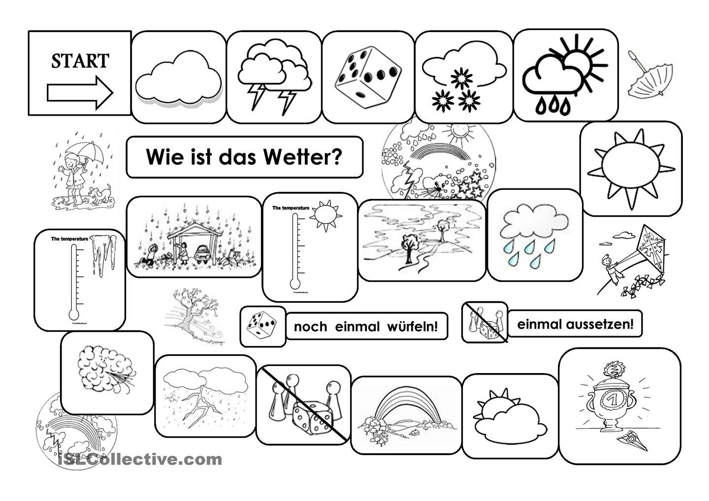 Das Wetter | Német | Pinterest | German, Deutsch and Kindergarten