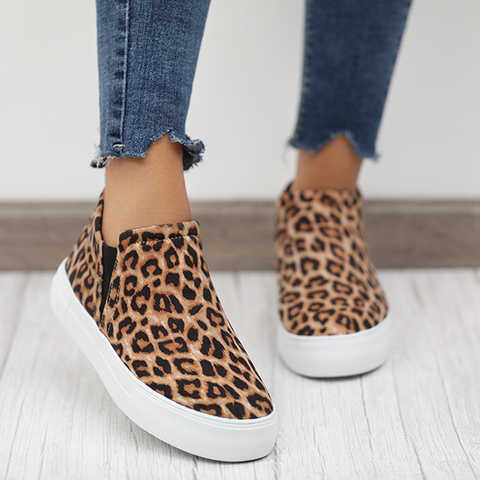 ebdbec38293 2019 Fashion Stylish Wedge Sneakers in 2019 | Shoes | Wedge sneakers ...