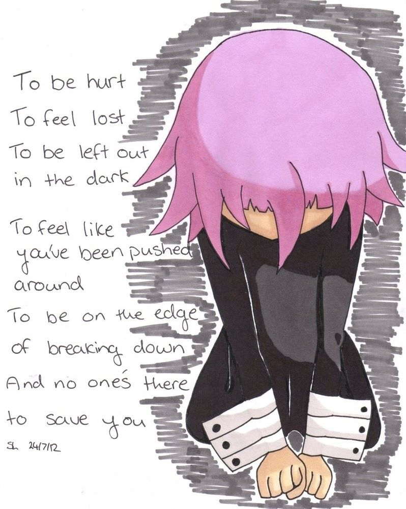 e159e3109aedef Crona from Soul Eater is just a misunderstood lil cinnamon bun! I luv him  so much! <3