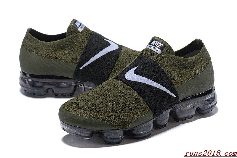 4f7e330474 Nike Air Vapormax Flyknit 2018 MOC Army Green | Cheapest Nike Shoes ...