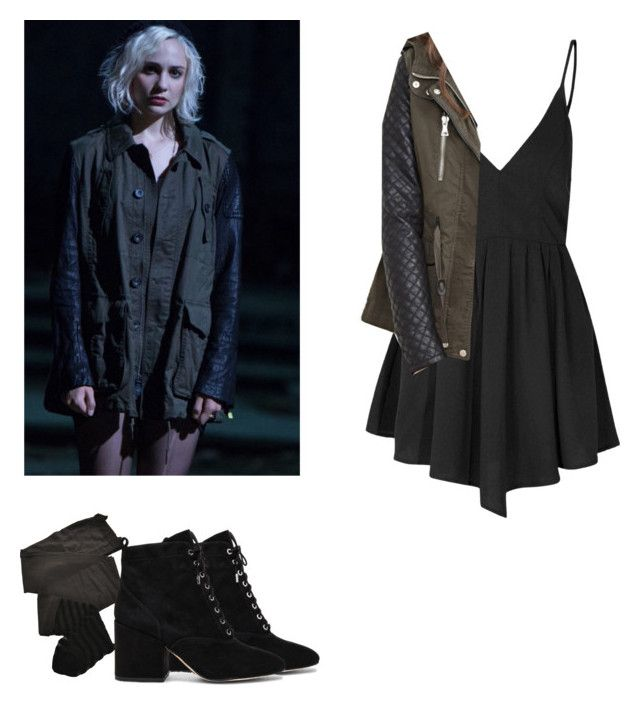 127a6ab6b030 Riley Blue - Sense8 by shadyannon on Polyvore featuring polyvore fashion  style Glamorous Forever 21 Trasparenze Sam Edelman clothing